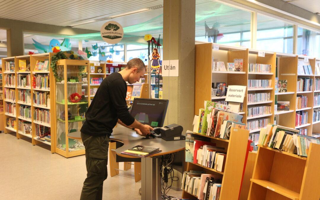 Redusert opningstid oktober-desember på Førde bibliotek