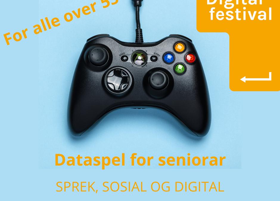 Digital festival – dataspel for seniorar!